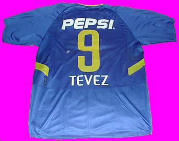 huge inventory 2ef53 4c506 Boca Jrs 2003 Jersey #9 TEVEZ - ArgentineSoccer.com Online Store
